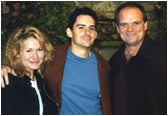 Larry with Musician Brad Paisley and Tracy Barns.